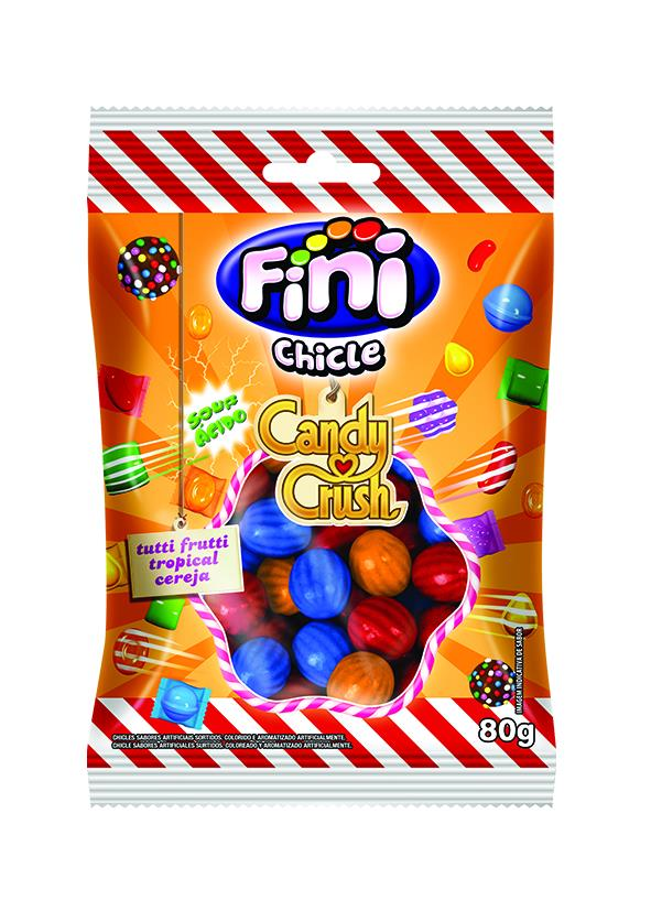 **CHICLE CANDY CRUSH 80G