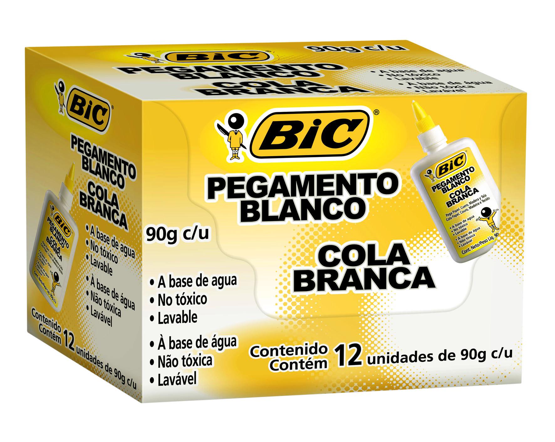 COLA BIC BRANCA 40GR CX C/12