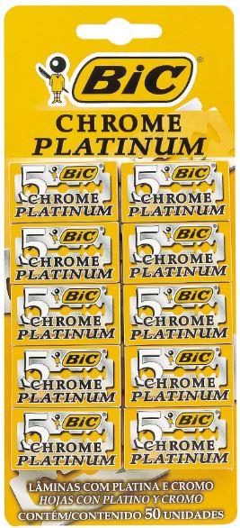 LAMINA BIC CHROME C/50